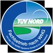 Zertifikat TÜV Nord WHG